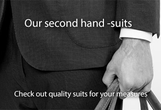 Our Second hand suits